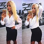 Женский красивый костюм: блуза и юбка (расцветки), фото 2
