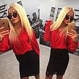 Женский красивый костюм: блуза и юбка (расцветки), фото 4