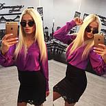 Женский красивый костюм: блуза и юбка (расцветки), фото 8