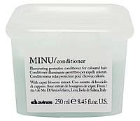 Кондиционер для сохранения цвета волос DAVINES MINU  250 мл
