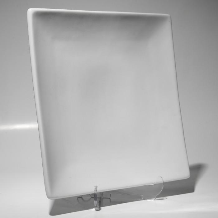 "Тарелка квадратная 6"" (15 см) без борта  F0007 6"