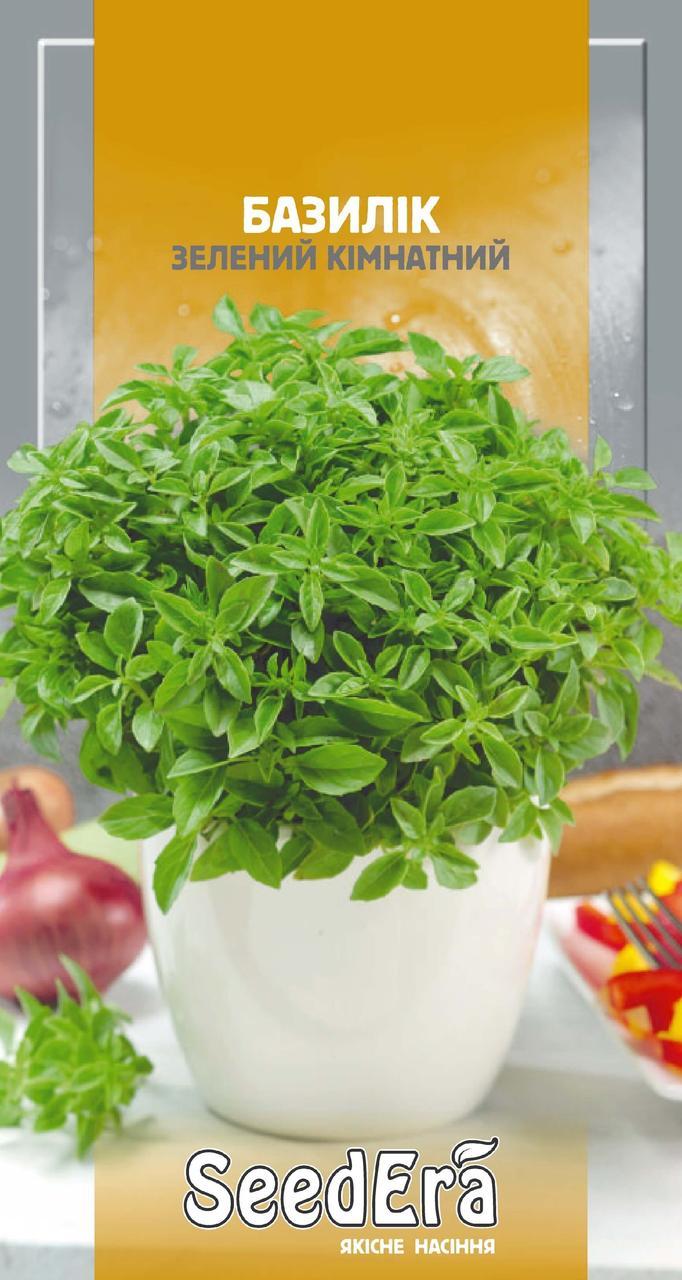 Семена Базилик зеленый комнатный 0.5 г SeedEra