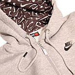 Спортивный костюм серый, трехнитка на флисе, фото 3