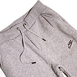 Спортивный костюм серый, трехнитка на флисе, фото 6