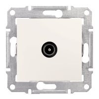 Розетка TV Schneider-Electric Sedna концевая крем SDN3201623