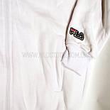 Спортивный костюм белый, трехнитка на флисе, фото 3