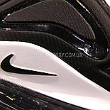 Кроссовки  AIR Max 720 Black White (Реплика ААА) ПОСЛЕДНИЙ РАЗМЕР 40, фото 7