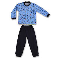 Детская пижама с манжетами на штанах, на рост - 80, 92, 104, 110, 116, 122 см. (арт: 9-34_3)