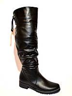 Высокие сапожки на модной подошве, от производителя., фото 1