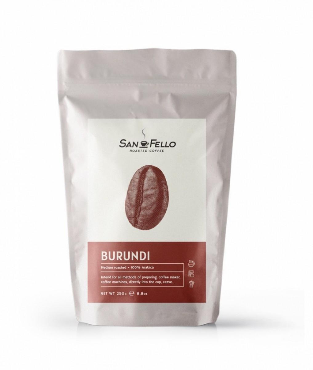Молотый кофе свежая обжарка Burundi 1 кг