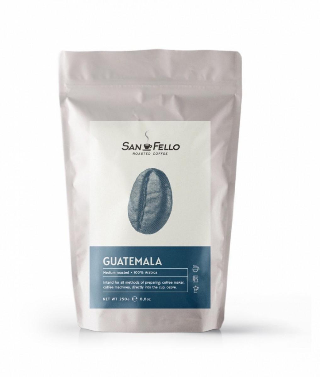 Молотый кофе свежая обжарка Guatemala 1 кг
