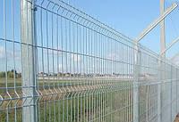 Забор из сварной оцинкованной сетки