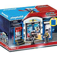 """Конструктор Playmobil city action игровой набор """"полицейский участок"""", фото 1"""
