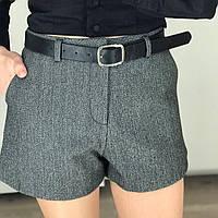 Женские твидовые шорты