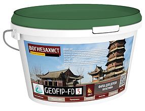 Вогнезахисна фарба GEOFIP FD5 для дерева 15 кг (FD5)