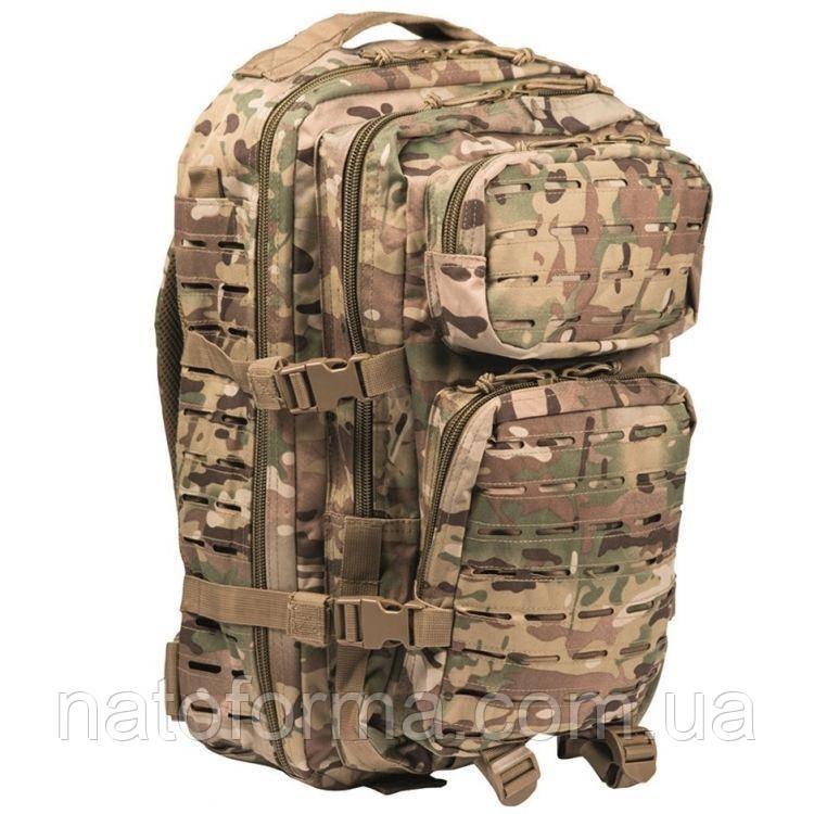 Рюкзак тактический, Mil-Tec Assault Pack Laser Cut Multicam