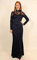 Длинное вечернее платье годе 44-52 р