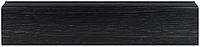 Плинтус Dekor Plast LL028 Венге Темный пластиковый, плинтус напольный, с кабель каналом, из двух частей