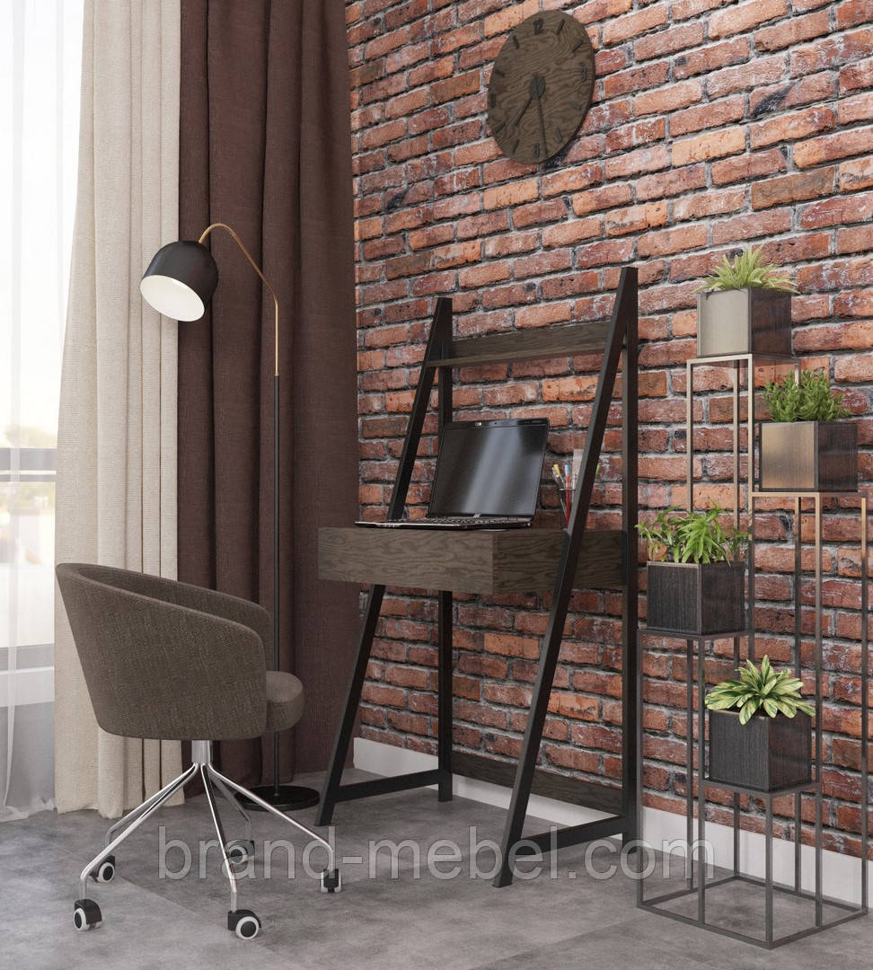Стіл письмовий Дуо (стол письменный) в стилі Лофт Loft