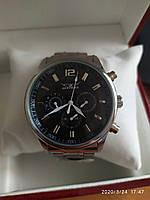 Механические наручные мужские часы с автоподзаводом JARAGAR  на браслете