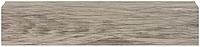 Плинтус Dekor Plast LL029 Фраке пластиковый, плинтус напольный, плинтус с кабель каналом, из двух частей
