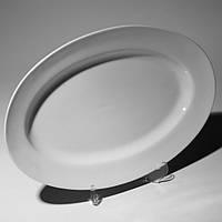 """Тарелка овальная 14"""" (35.5 см) с бортом F0098 14"""