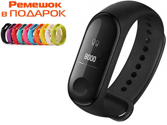 Фитнес-браслет Xiaomi Mi Band 3 Black (MGW4041GL) Оригинал, фото 2