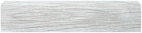 Плинтус Dekor Plast LL030 Береза Белая пластиковый, плинтус для пола, плинтус с кабель каналом, из двух частей