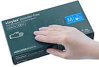 Перчатки виниловые Vinylex® powder-free, размер M (7-8), 50 пар.