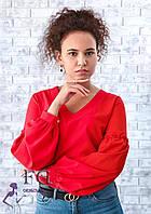 Блузка женская с объемными рукавами  013В/03, фото 1
