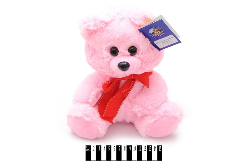 """Іграшка мяка """"Ведмедик"""", рожевий, Мягкая игрушка """"Мишка"""" В237/1"""