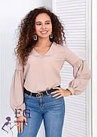 Блузка женская с объемными рукавами 013В/04, фото 1