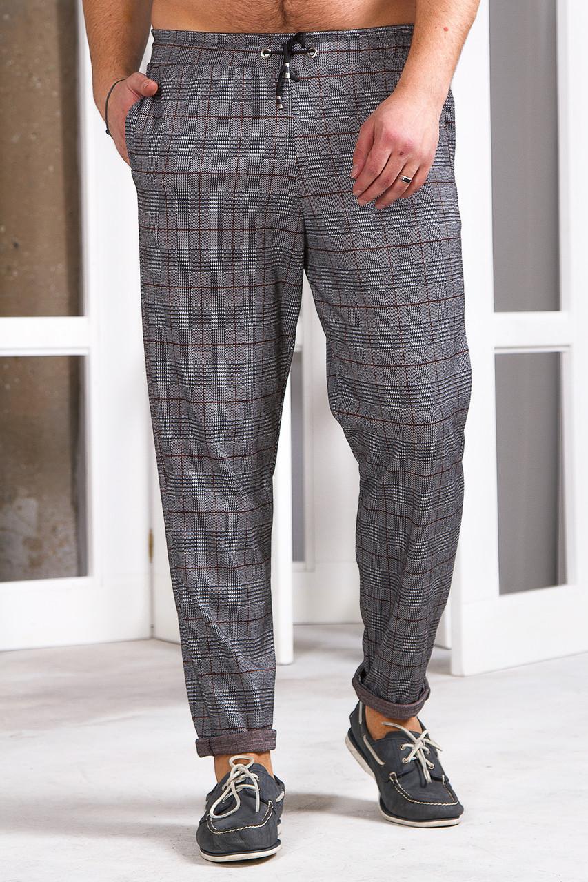 Мужские спортивные штаны 742 коричневые