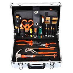 Набір інструментів 103 предмета, алюмінієвий кейс Harden Tools 510703
