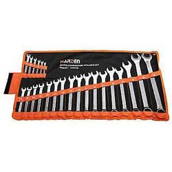 Набір комбінованих ключів 23 предмета, 6-32 мм Harden Tools 540106