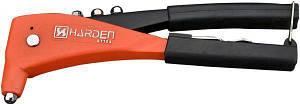 """Професійний ручний заклепочник посилений з аксесуарами 10.5"""" 2,4 - 4,8 мм Harden Tools 610104"""
