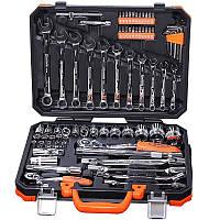 """Универсальный набор инструмента 77 предметов 1/2"""" и 1/4"""" Harden Tools 510677"""