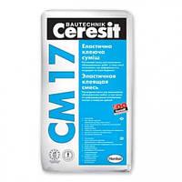 Клей для плитки CERESIT СМ-17 25 кг(морозостойкая)