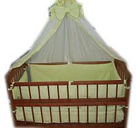 Кровать Сашенька темная, постельное 8 эл, ортопедический матрас в наличие
