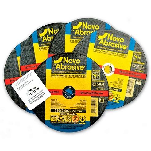 Круг отрезной по металлу NovoAbrasive 230
