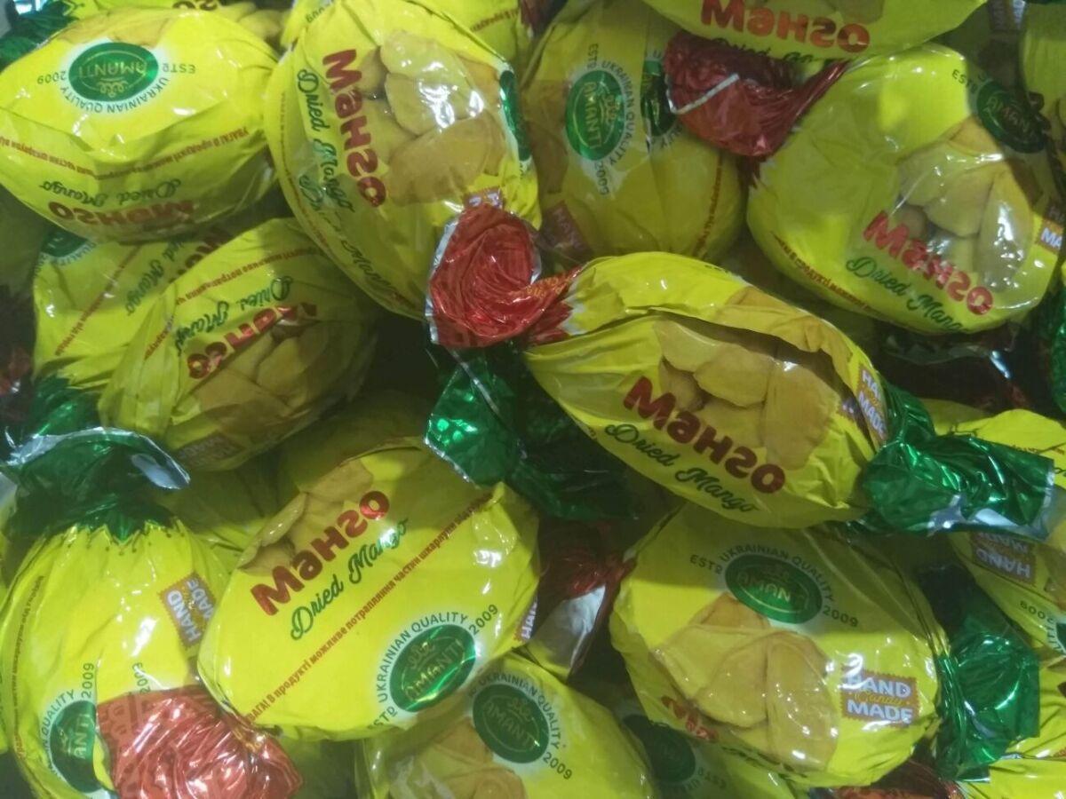 Манго в шоколаде 500 грамм