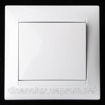 KB-1V wh выключатель 1-кл. белый