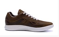 Мужские кожаные кроссовки YAVGOR Coffe, фото 1