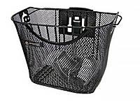 Кошик передній Spencer QR 35*25*26см, чорний (KOS208)