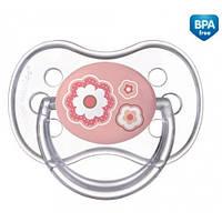 Пустышка силиконовая симметрическая Newborn baby 0-6 месяцев