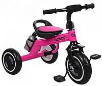 Велосипед трехколесный M 3648-M-1, малиновый, фото 1