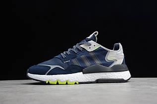 Кросівки чоловічі Adidas Nite Jogger 2019 Boost / ADM-2515 (Репліка)