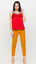 Элегантный топ-майка в бельевом стиле/ разные цвета, S, M, L, KR-Джо/, фото 2