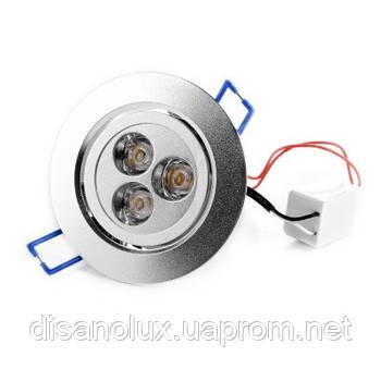 LED-103/3W BA Точечный светильник led