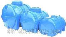 Емкости полиэтиленовые горизонтальные 350 литров